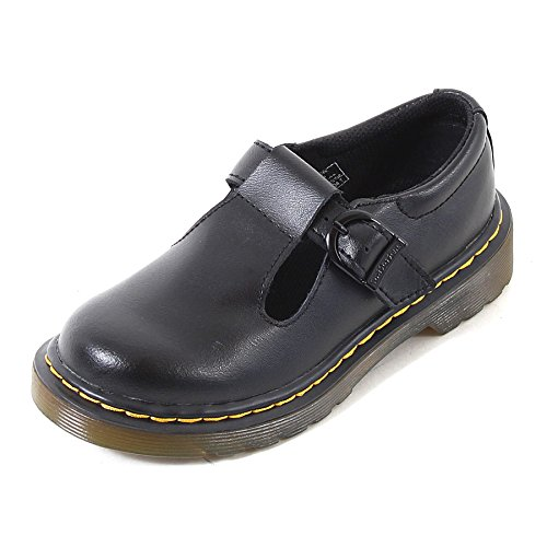 Dr. Martens Girls Junior Polley Black T Lamper Mary Jane School Shoes Size 11 -