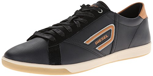Diesel Mens Eastcop Grantor Sneaker Bassa Moda Nero