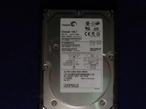 (DELL ST3300007LC-1 300gb 10K U320 SCSI 80pin Hard drive Dell labeled)