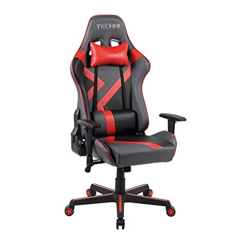 TECHNI SPORT Gaming Chair Collection - Techni Sport TS-70 Office - PC Gaming Chair (TS70, Red) Uncategorized