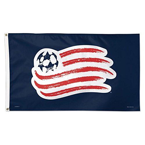 New England Revolution MLS Deluxe Indoor Outdoor Flag (3' x 5') … by WinCraft