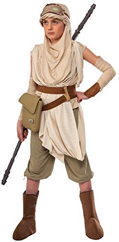 Rubie's Star Wars VII: The Force Awakens Premium Rey Costume, (Costumes Star Wars Force Awakens)