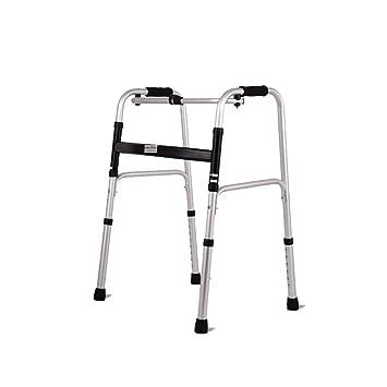 Trella Walker para personas mayores con mango suave, altura ajustable, rodillo de aleación de