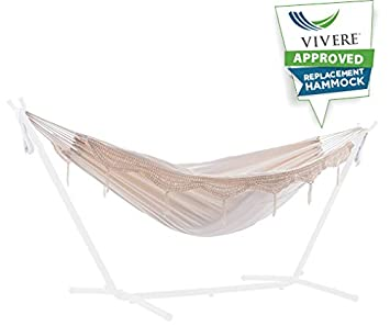 Vivere UHSREP-00 Replacement Hammock, Natural