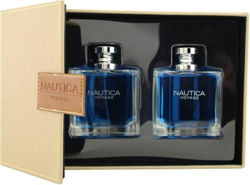 Nautica Voyage By Nautica For Men. Set-edt Spray 3.4-Ounce & Aftershave 3.4-Ounce -
