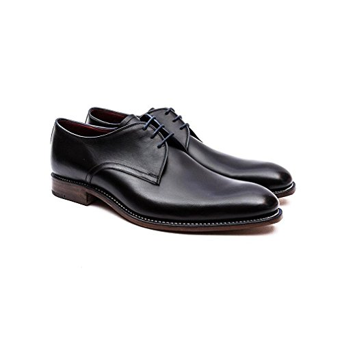 Spitzen Schuhe Schwarz Loake Sceada Mens Sich Formale tqUw7UT