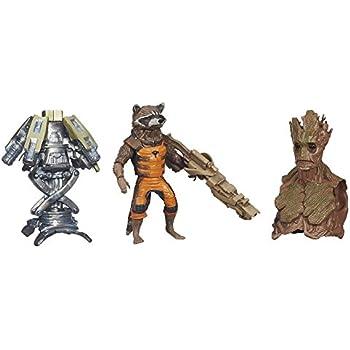 Marvel Guardians of The Galaxy Rocket Raccoon Figure, 6-Inch