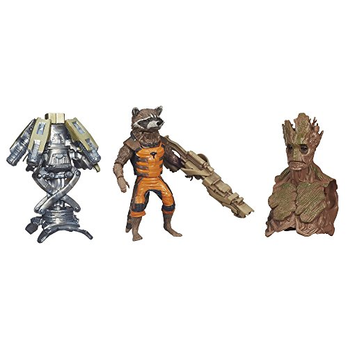 Marvel Guardians of The Galaxy Rocket Raccoon Figure, 6-Inch