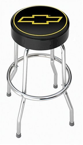 Chevy Gold Bowtie Garage Stool  sc 1 st  Amazon.com & Amazon.com: Chevy Gold Bowtie Garage Stool: Automotive islam-shia.org