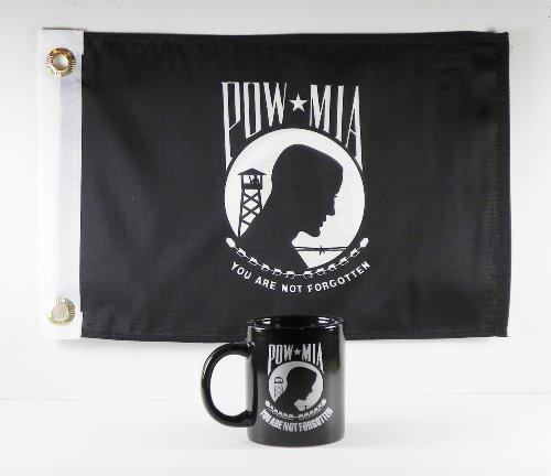 POW MIA Coffee Mug/Cup with 12