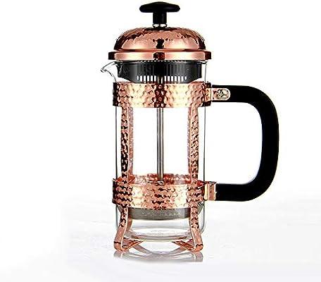 GYCC Cafetera de café de Prensa Francesa en Vidrio brosilicato 350 ml 3 Tazas de café con Filtro: Amazon.es: Hogar
