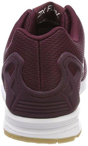 Ftwbla Gum3 Running Rojo Zapatillas de Granat 000 Hombre ZX Adidas para Flux TvHwzqSqa