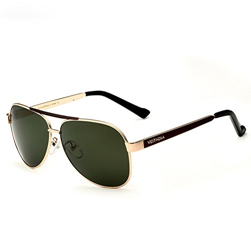 Gafas Compras Hombres De Informal De para Viajar Limotai Gafas Sol IR Sol De para oro 400 Senderismo Fiesta con Solgafas De UV Polarizadas Lentes Gris qxv00dCw