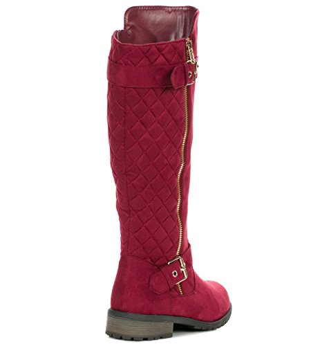 Collega Per Sempre Mango-21 Lady Boot Burgundy-s