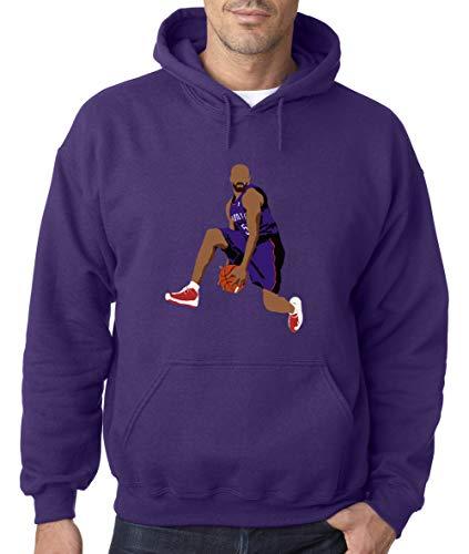 Purple Toronto Carter The Dunk Hooded Sweatshirt Adult ()