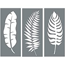 Signs Walls ID 1727151 Crafts Stencil Plastic Mylar Stencil for Painting Leaf Floral Nature