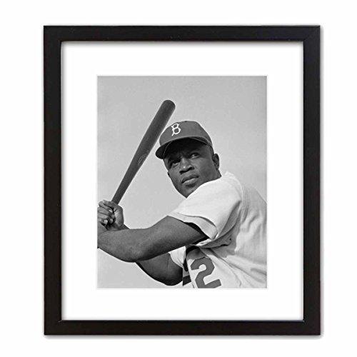 Photo Art Print ~ Famous Historic Picture: Jackie Robinson (8