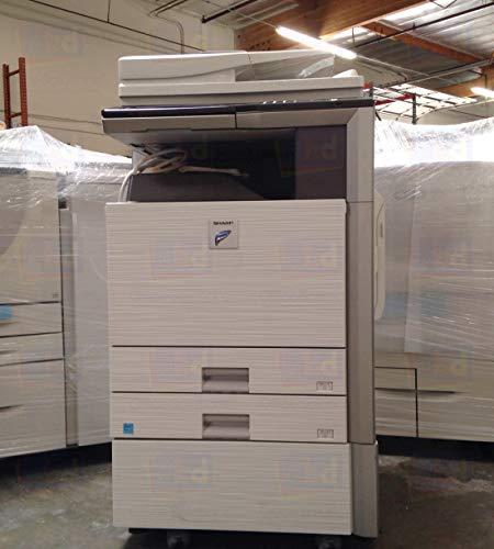 Refurbished Sharp MX-M283 Tabloid-size Monochrome Multifunction Printer – Print, Copy, Scan, 2 Trays, Cabinet, Auto Duplex, RSPF, 28ppm (Certified Refurbished)