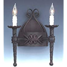 Designers Fountain 9181-NI Alhambra 2 Light Wall Sconce by Designers Fountain