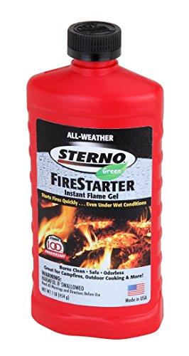 (Sterno 20216 Flame Gel Fire Starter, 16 Ounces)
