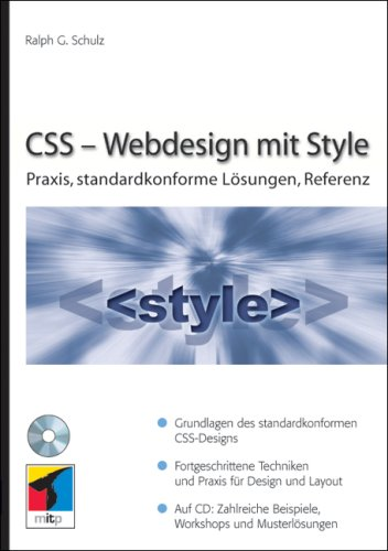 CSS – Webdesign mit Style: Praxis, standardkonforme Lösungen, Referenz