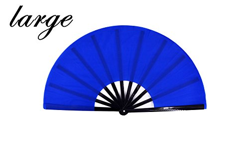 meifan Large Chinese Kung Fu Tai Chi Hand Fan for Men/Women, Hand Held Dance Folding Fans, Gift Fan, Performance Fan -