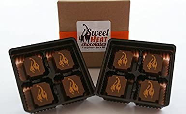 Ghost Pepper Milk Chocolate 8pc