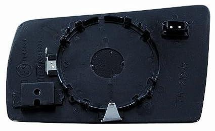 Cristal placa retrovisor clase E W210 1995-1999 derecha t/érmica