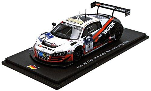 Audi R8 LMS Ultra No.9 - Winner ADAC 24h Nürburgring 2014 (N.Thiim - M.Seefried - R.Westbrook - A.Müller)