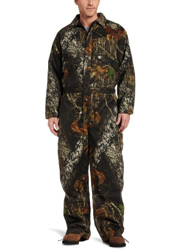 Insulated Hunting Coverall - Russell Outdoors Men's Flintlock Coveralls, Break-Up, XX-Large