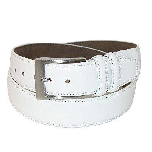 Gem-Dandy PGA Tour Full Grain Leather Belt White 34