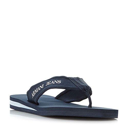 集中壊す悩む(アルマーニ ジーンズ) Armani Jeans メンズ シューズ?靴 サンダル 935093 Nylon Toe Post Sandals [並行輸入品]