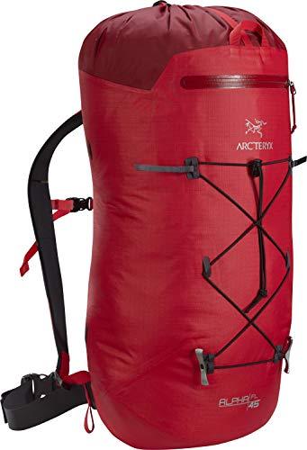 Arc'teryx Alpha FL 45 Backpack (Cardinal, Regular)