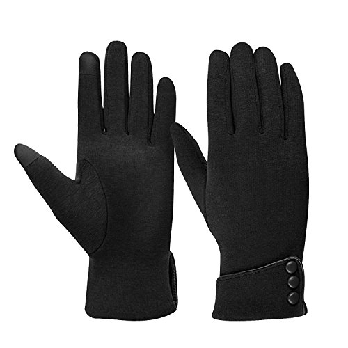 (TONLION Womens TouchScreen Gloves Winter Gloves Warm Windproof Mittens)