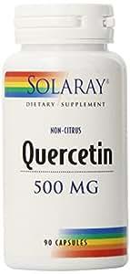 Solaray Quercetin Capsules, 500 mg, 90 Count