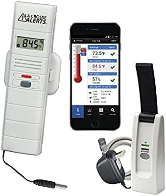 Garden Ornaments La Crosse Technology 926-25106-WGB Wireless Monitor System Set w/Wet Probe Garden & Patio