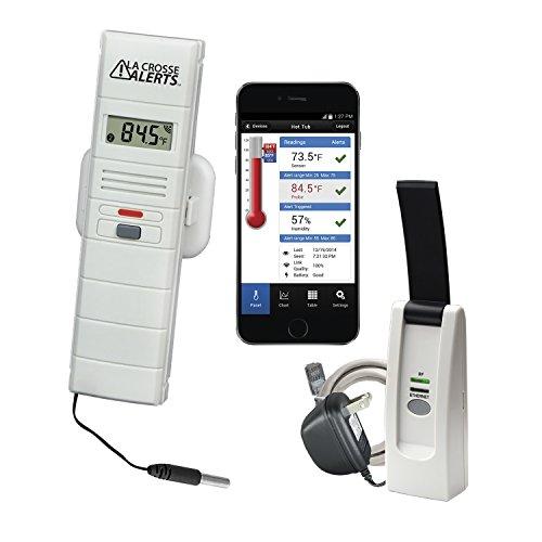 (La Crosse Technology 926-25106-WGB Wireless Monitor System Set w/Wet Probe )