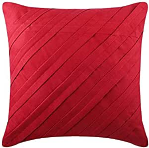 PROVENCE french country pillow cover 22x22 red motif