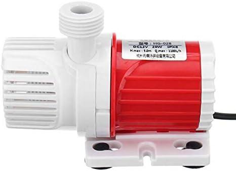 Wodeni Portable DC12V 1100L//H MAX Lift 5M Submersible Water Pump Aquarium Fish Tank