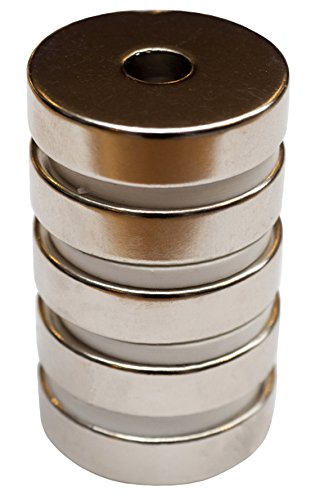 rare-earth-neodymium-n45-magnets-32mm-x-8mm-with-nickel-coating-and-round-base-with-countersunk-hole
