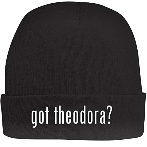 Shirt Me Up got Theodora? - A Nice Beanie Cap, Black, OSFA]()