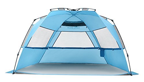 Pacific Breeze Easy Up Beach Tent Deluxe XL  sc 1 st  The Outdoor Land : beach tents australia - memphite.com
