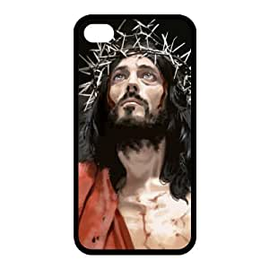 Custom Jesus Back Case for iphone4,4S JN4S-134 by lolosakes