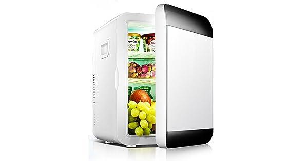 Amazon.com: PGing Mini frigoríficos, coche Mini frigorífico ...
