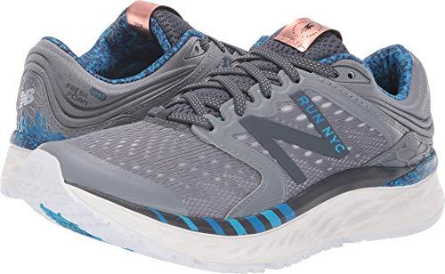 (New Balance Women's 1080v8 Fresh Foam Running Shoe, Black/Copper, 10 B US)