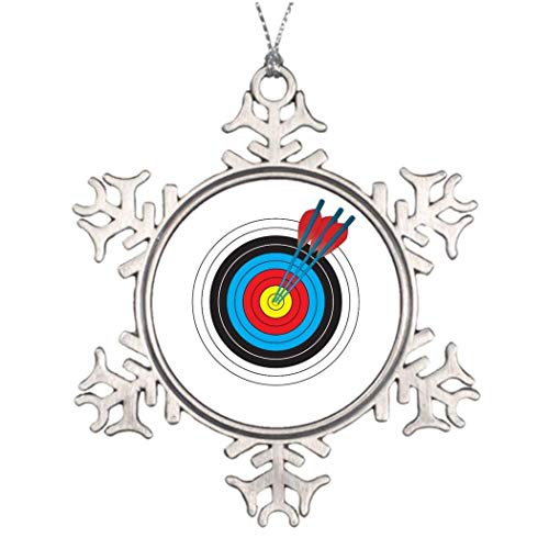 Blake55Albert Tree Branch Decoration Archery Target with Arrows Personalised Christmas Tree Decoration 554652