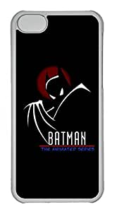 iphone 5s Case, iphone 5s Cases - Protective Crystal Clear Hard Case for iphone 5s Batman Anime Series Anti-Scratch Clear Back Case for iphone 5s