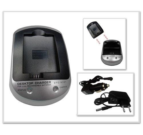 Cargador SET DTC-5101 para Canon EOS 450D (LP-E5): Amazon.es ...