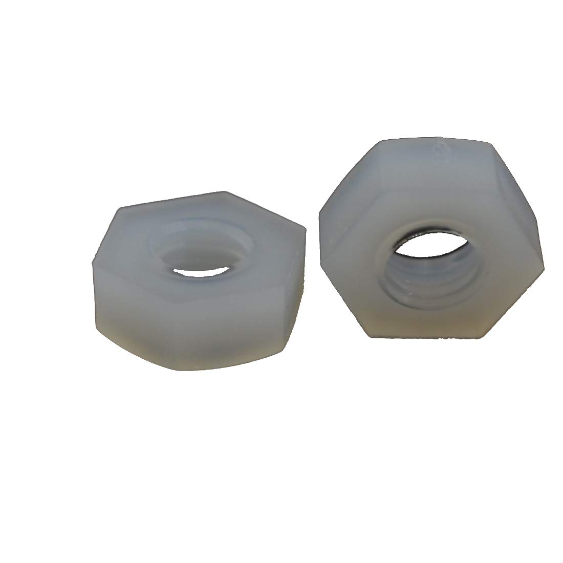 M3X25 XunLiu 100pcs M3 25mm Nylon Hex Standoff Spacer Replacement Female to Female