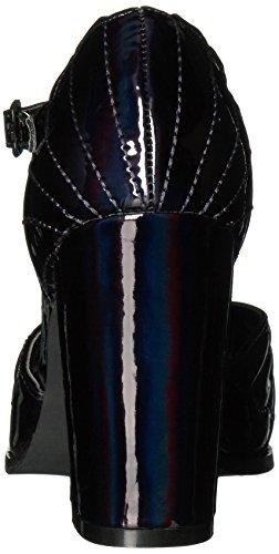 Iron Fist Mother Of Pearls Heel - Plataforma Mujer Black (Black)